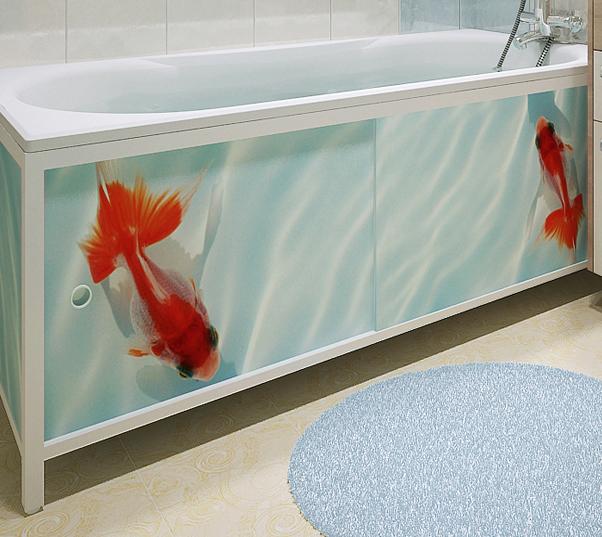 Боковая панель для ванной своими руками 56