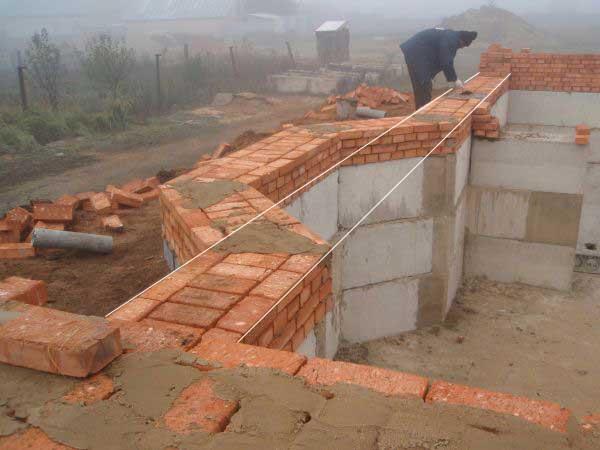 пошаговое строительство коттеджа из газобетона с цокольным этажом чаще всего