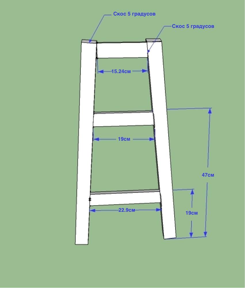 Как сделать барные стулья своими руками из дерева 56