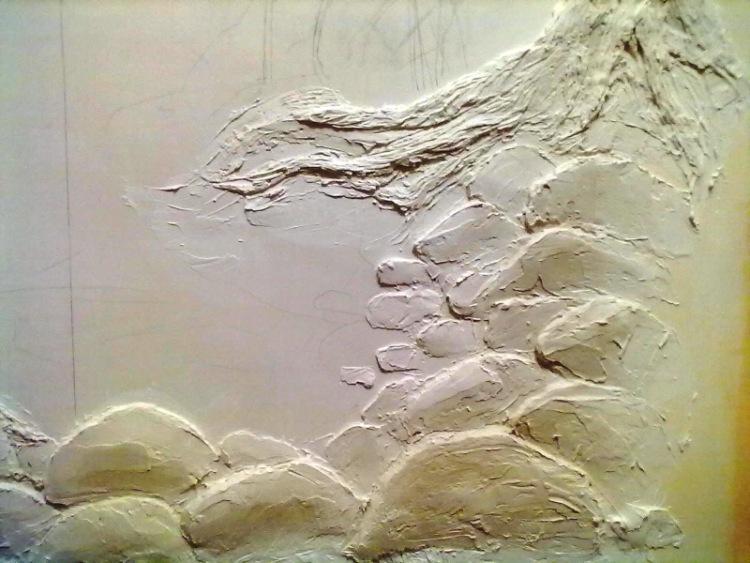 Панно из гипса на стену своими руками