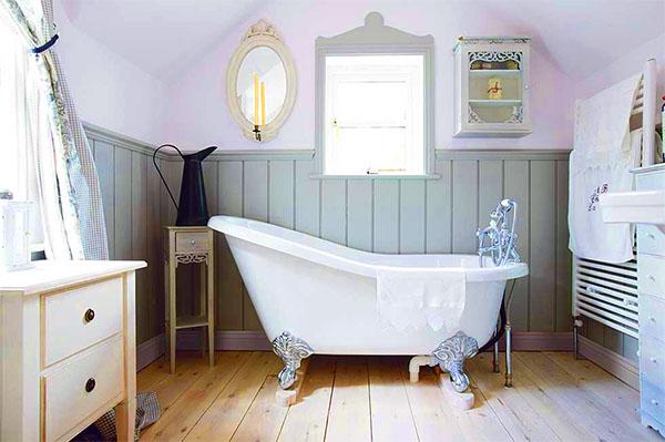 Plastic Panelen Badkamer : Installatie van kunststof panelen in de badkamer montage met