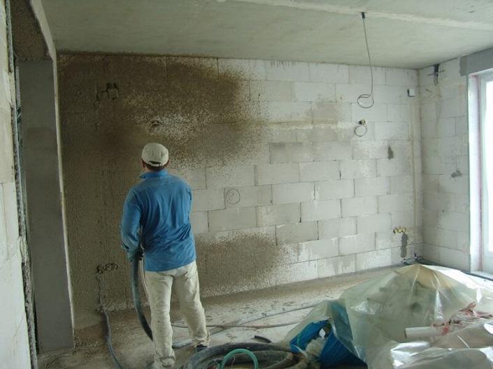 Штукатурка стен по газосиликатным блокам своими руками