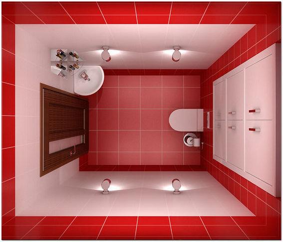 Дизайн плитки туалета 2