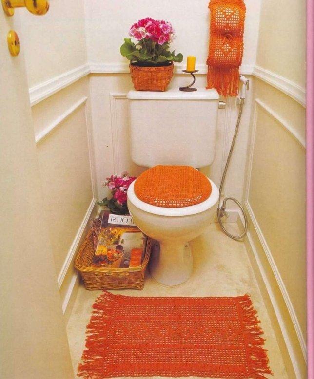 Интерьер туалета своими руками 49