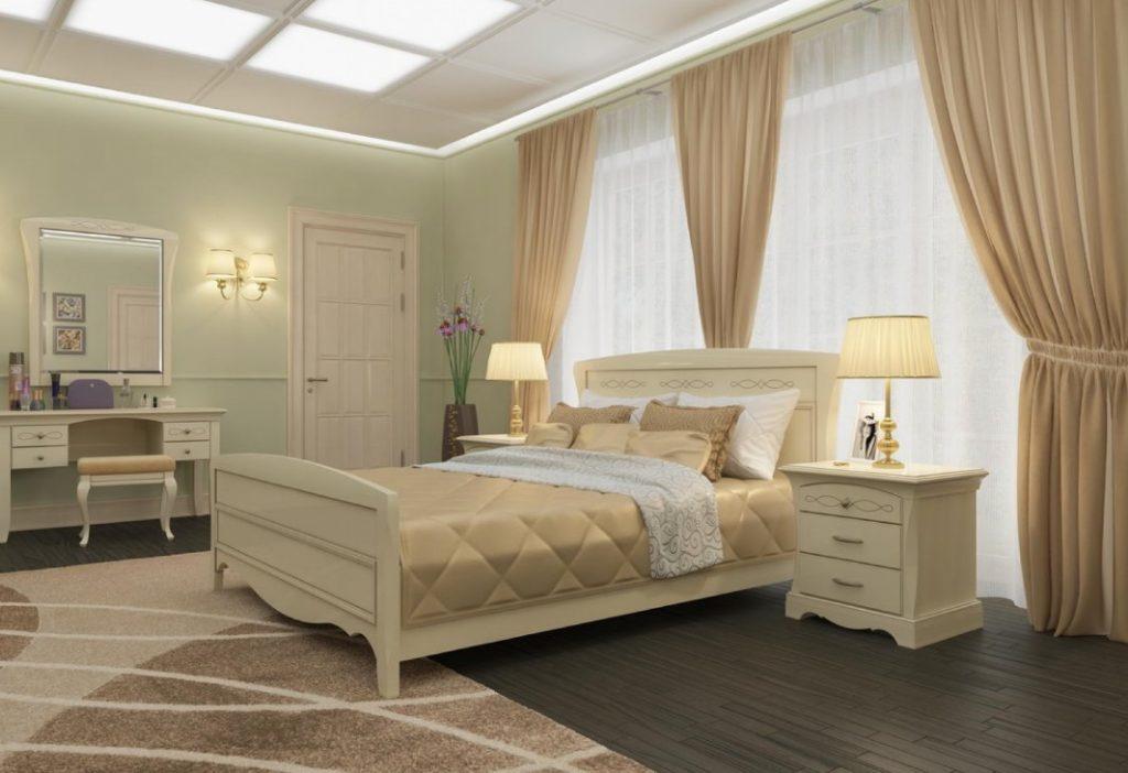 Ideale Slaapkamer Kleuren : Slaapkamerontwerp in grijze beige kleuren voorbeelden van