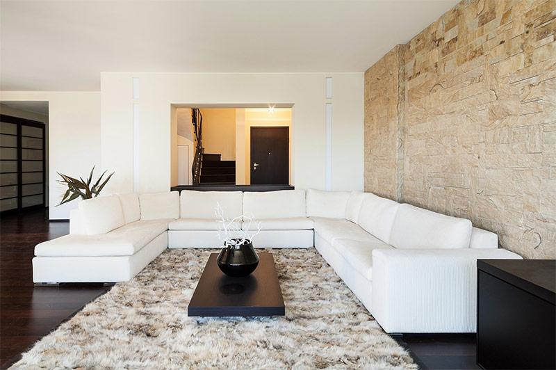 Stenen Muur Interieur : Stenen muur woonkamer voorbeelden van hoe stenen de sfeer